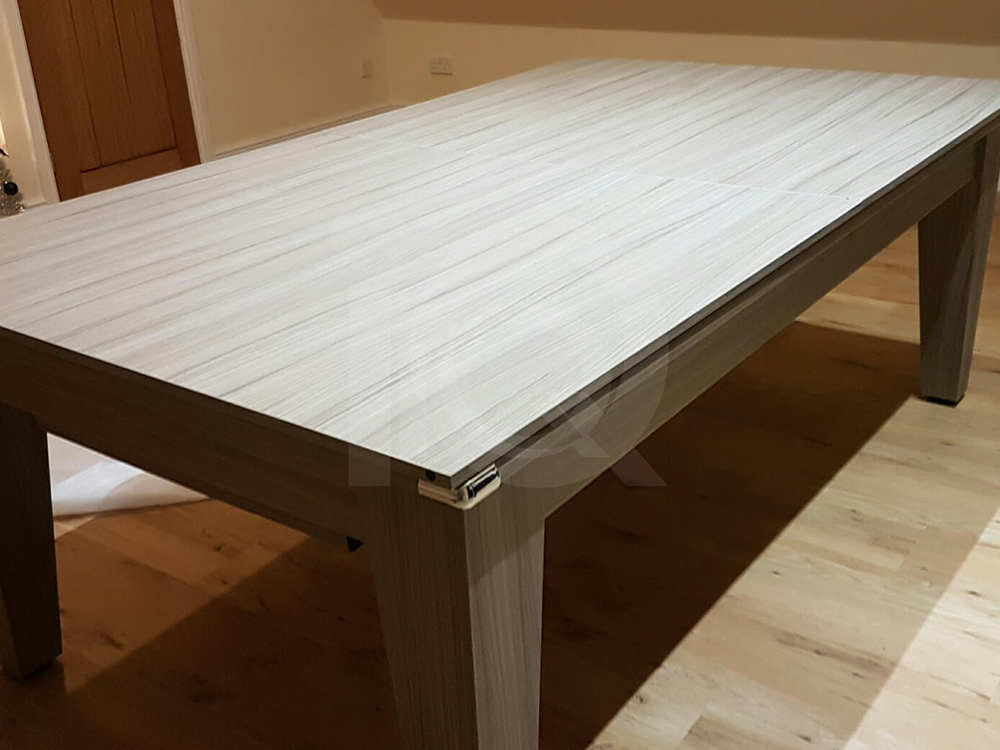 7ft Gatley Driftwood Pool Dining Table