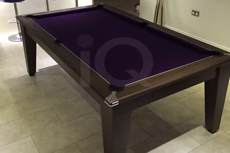 7ft Gatley Walnut Pool Dining Table
