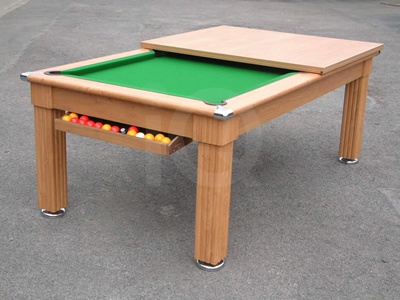 Gatley Oak Pool Dining Table