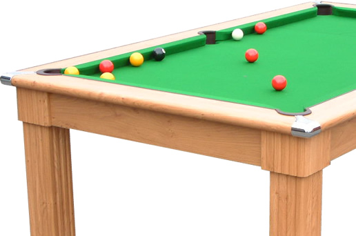 Gatley Traditional Pool Dining Table 6ft